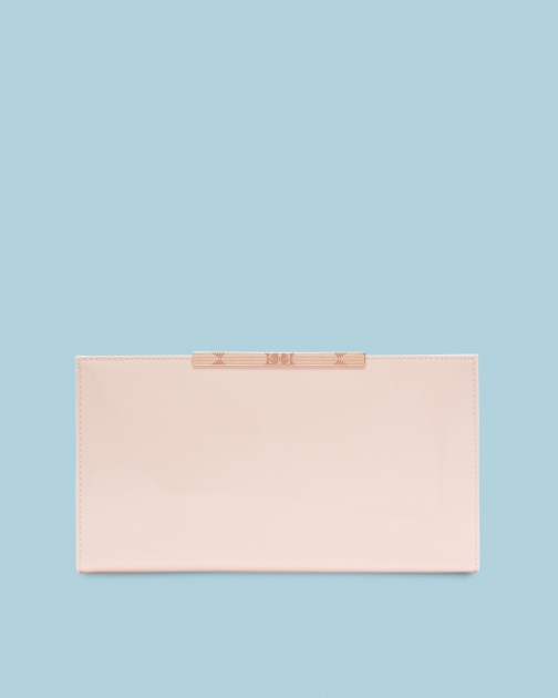 Ted Baker Leather Bar Detail Travel Wallet