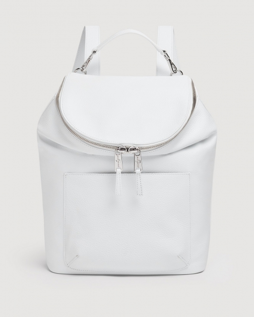 7 For All Mankind Women's White Backpack