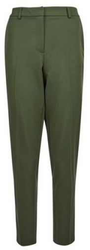 Dorothy Perkins Tall Forest Green Ankle Grazer Trousers Trouser