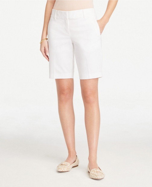 Ann Taylor Twill With 10 Inch Inseam Short