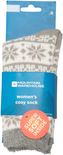 Mountain Warehouse Cosy Griffin Lined Womens - Grey Sock