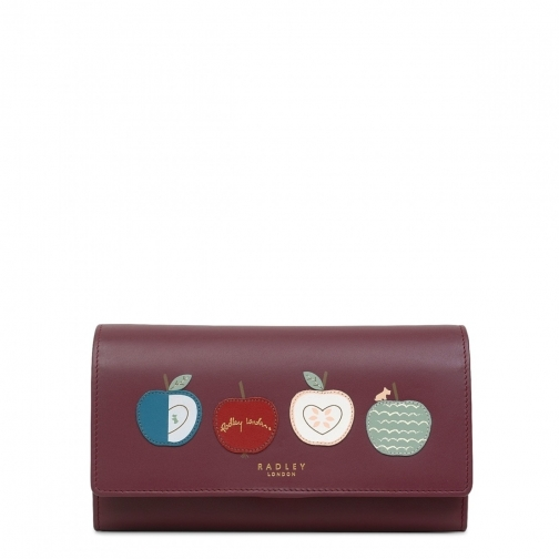 Radley An Apple A Day Large Flapover Matinee Purse