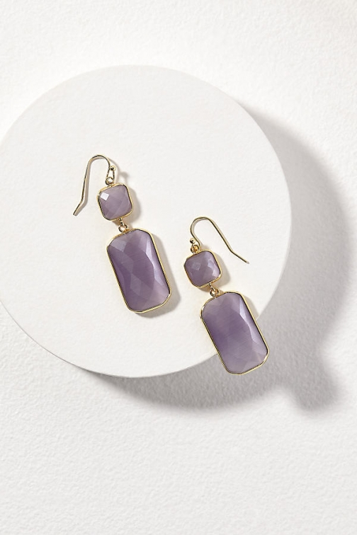 Anthropologie Lilah Stone-Drop Earring
