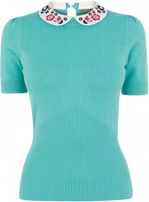 Oasis PAINTED MEADOW KNIT Collar