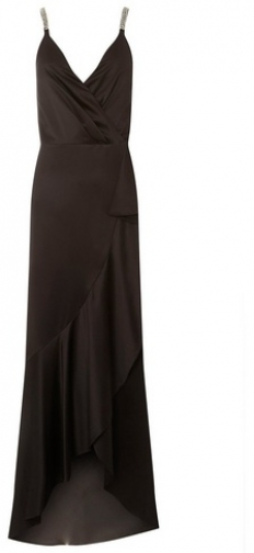 Luxe Black Camisole Maxi Dress