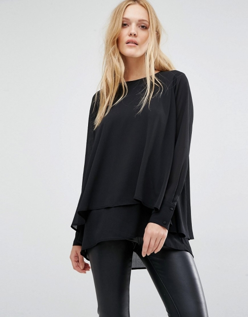 Y.a.s Vinc Structure Long Sleeve Top