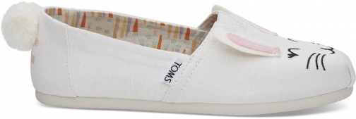 Toms Bunny Women's Classics Slip-On Shoes