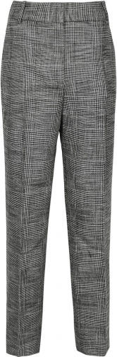 Reiss Issa - Checked Grey, Womens, Size 4 Tailored Trouser
