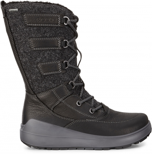 Ecco Womens Noyce GTX High Size 5/5.5 Black Boot