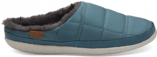 Toms Stellar Blue Quilted Women's Ivy Slippers