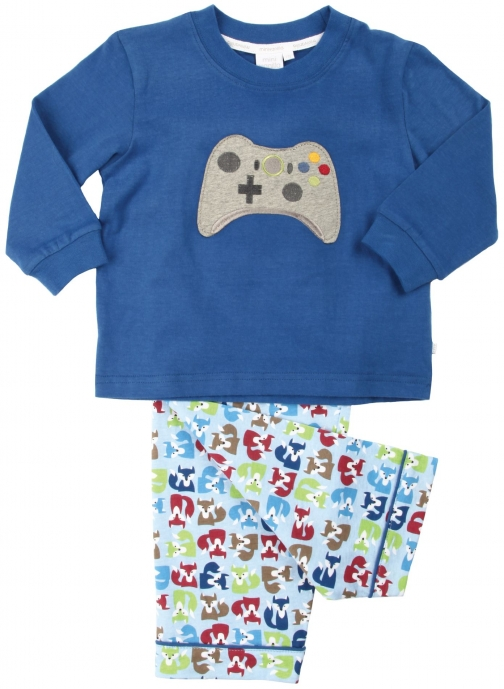 House Of Fraser Mini Vanilla Boys Games Pyjama