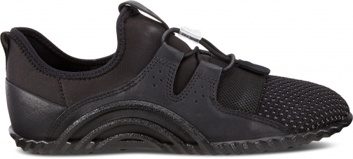 Ecco Vibration 1.0 Shoe Sneakers Size 5-5.5 Black Trainer