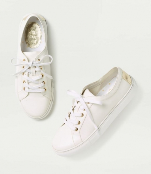 Loft Lace Up Sneakers Trainer
