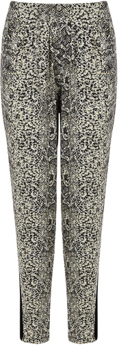 Oasis SNAKE PRINT TROUSERS Trouser