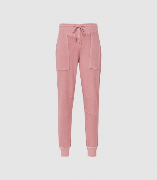 Reiss Harley - Washed Loungewear Rose, Womens, Size XS Jogger