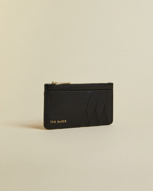 Ted Baker Zipped Leather Card Holder