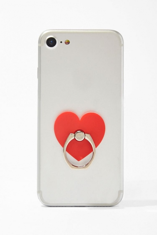 Forever21 Forever 21 Heart Phone , Red Ring