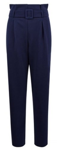 Dorothy Perkins Navy Paperbag Trousers Trouser