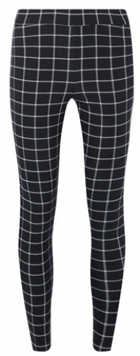 Dorothy Perkins Womens Black Grid Check - Multi Colour, Multi Colour Skinny Trouser