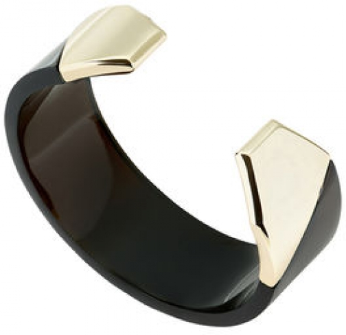 Karen Millen Geometric Chunky Bangle Bracelet