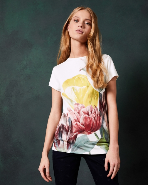 Ted Baker Tranquility Fitted T-Shirt