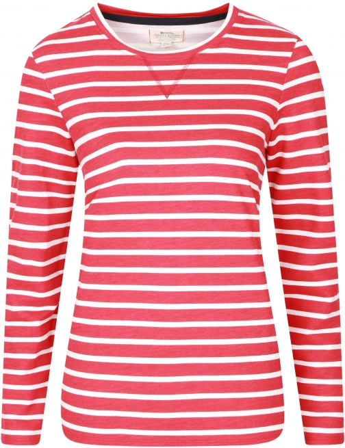 Mountain Warehouse Devon Womens Pull Over Sweat - Red Top