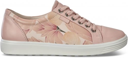 Ecco Womens Soft 7 Sneaker Size 4/4.5 Rose Dust Trainer