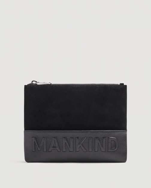 7 For All Mankind Small Mankind Black Clutch