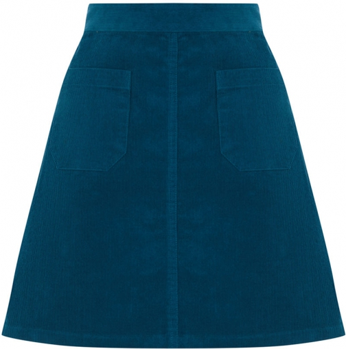 Oasis PATCH POCKET CORD Skirt