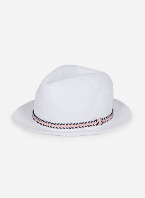 Dorothy Perkins White Trilby Hat