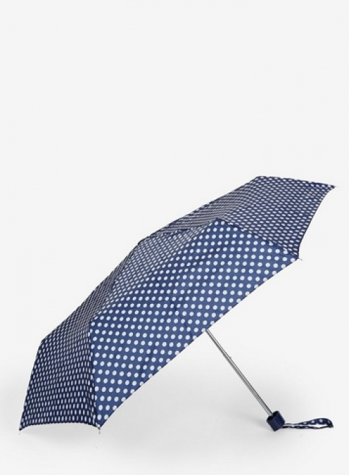 Dorothy Perkins Womens Navy Spotted - Blue, Blue Umbrella