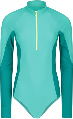 Mountain Warehouse Bay Long-Sleeved Womens - Teal Swimsuit