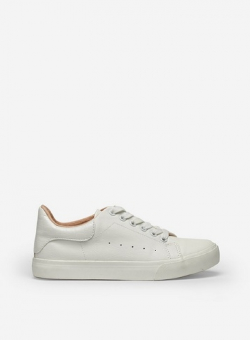 Dorothy Perkins White 'Iris' Lace Up Trainer