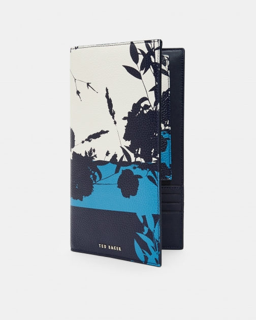 Ted Baker Bluebell Leather Travel Wallet