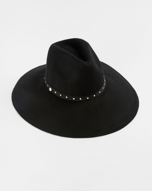 Ted Baker Stud Detail Wool Hat