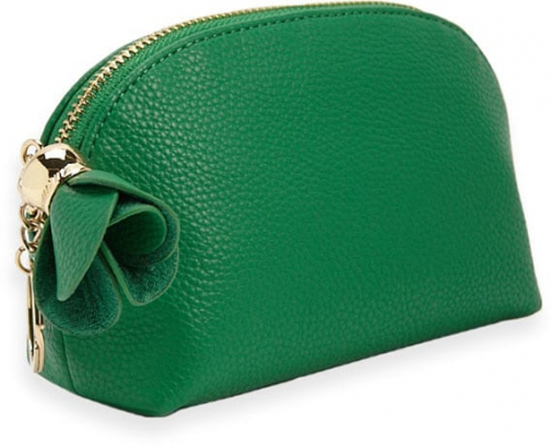 Forever21 Forever 21 Faux Leather Half-Moon Green Pouch