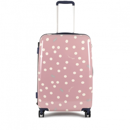 Radley Vintage Dog Dot Medium Four Wheel Suitcase