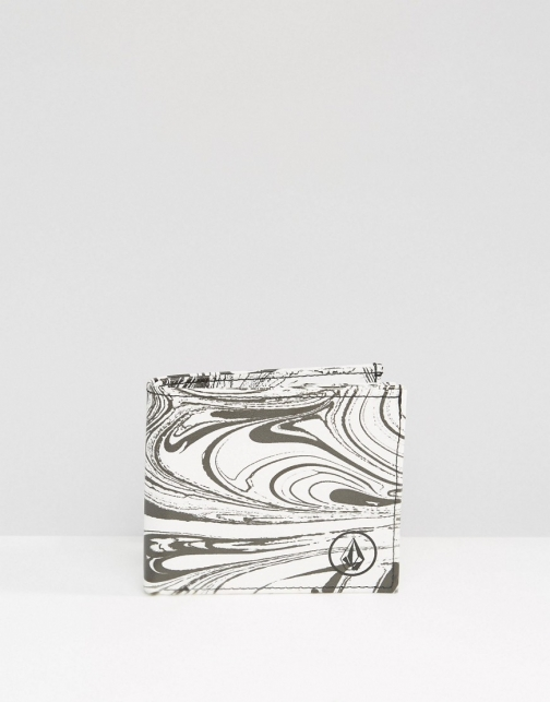 Volcom White Paint Wallet