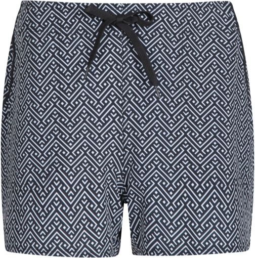 Mountain Warehouse Patterned Womens Stretch Boardshorts - - Black Short