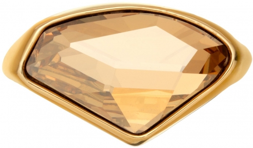 Aurora 18ct Gold Plated Crystal Ring