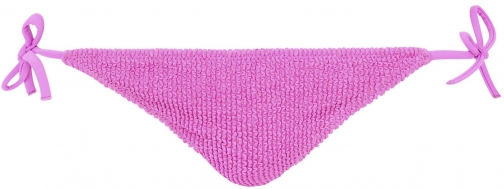 Calzedonia - Alice Crinkle Side Bottoms, XS, Violet, Women Tie