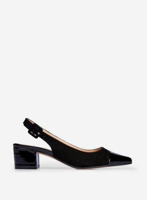 Dorothy Perkins Black 'Darling' Shoes Court