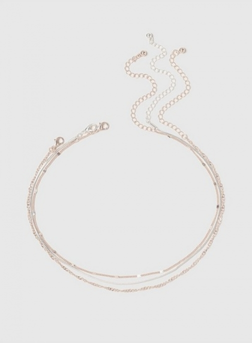 Dorothy Perkins 3 Pack Fine Chain Necklace Chokers