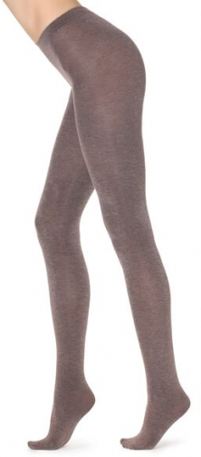 Calzedonia Super Opaque With Cashmere Woman Brown Size XL Tight