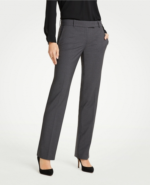 Ann Taylor The Straight Pant Tropical Wool Suit