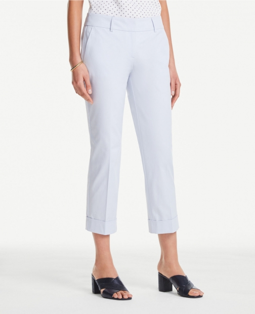 Ann Taylor Curvy Crop Pants Trouser