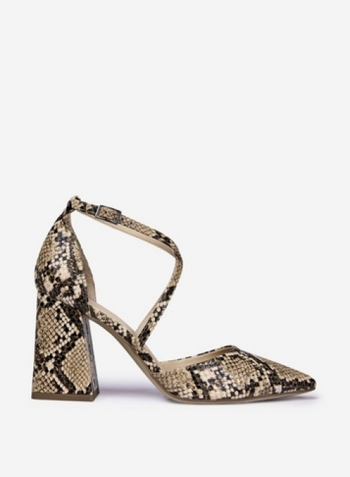 Dorothy Perkins Multi Colour 'Daria' Snake Print Shoes Court