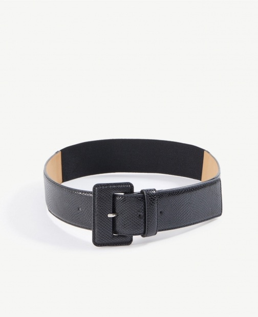 Ann Taylor Wide Square Buckle Belt
