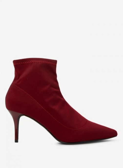 Dorothy Perkins Womens Red And Burgundy 'Atomic' - Red, Red Ankle Boot