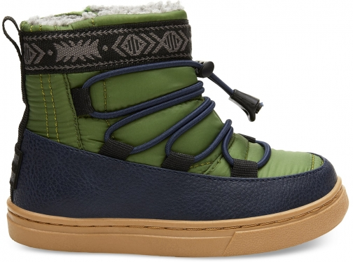 Toms Light Pine Quilted Tiny TOMS Alpine - Size UK8 / US9 Boot